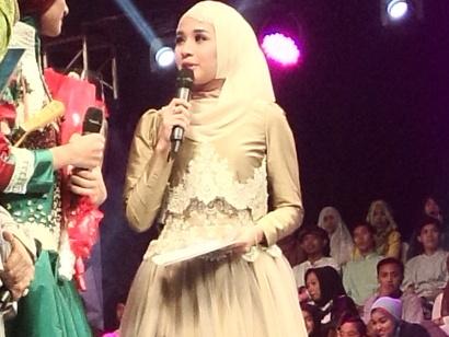 Lihat Bakat 8 Finalis, Laudya Chyntia Bella Makin Semangat Perdalam Islam