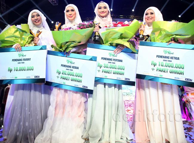 Bella Almira Juara Sunsilk Hijab Hunt 2015