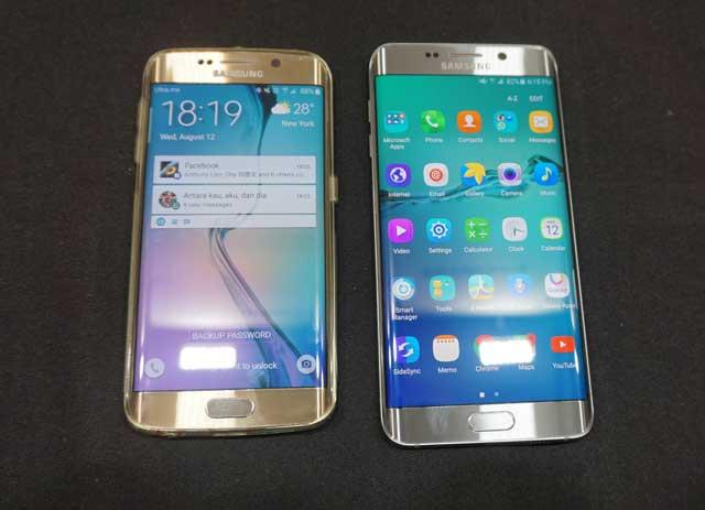 'Kakak-Adik' Galaxy S6 Edge: Beda Ukuran, Beda Kekuatan
