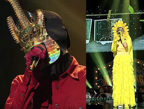 Identitas Dua Idola KPop Ini Bikin Shock Panelis 'King of Masked Singer'