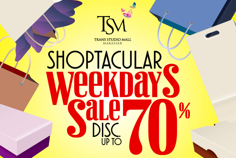 Serbu! Diskon Belanja Hingga 70% di Trans Studio Mall Makassar