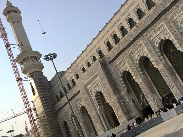 Proyek Pintu Bab Abdullah Dikebut