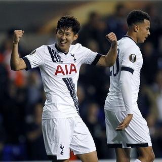 Son Heung-min Dua Gol, Spurs Kalahkan Qarabag 3-1