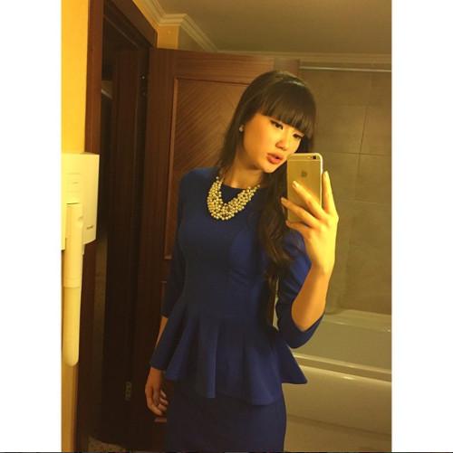 Pemain Voli Cantik Sabina Jadi Bintang di Instagram