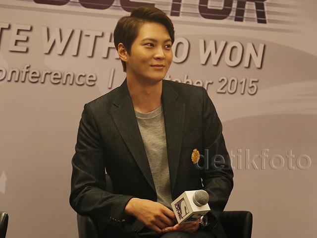 <i>Oppa</i>! Joo Won Bikin Fans di Jakarta Histeris