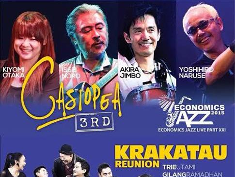 Warga Jogja! Siap Nge-jazz Bareng Krakatau Reunion dan Casiopea 3rd Nanti Malam?