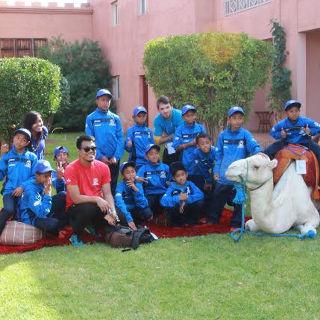 Lewat Sepakbola Mengenal Budaya Negeri Maghribi