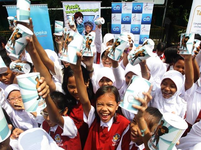 Citi Indonesia Ajarkan Anak-anak SD Keuangan