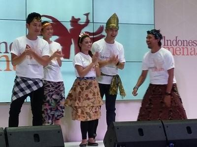 Aurel Hingga Ayu Gani Ikut Meriahkan Indonesia Menari 2015