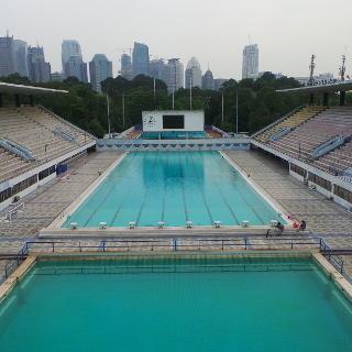 kolam renang dan velodrome di jakarta bukan renovasi tapi perombakan rh sport detik com