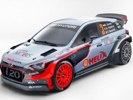 Ini Mobil Jagoan Hyundai Di Ajang WRC 2016
