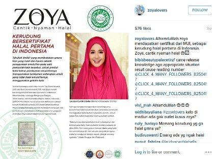 Heboh Kerudung Halal Zoya, Ini Reaksi Para Netizen