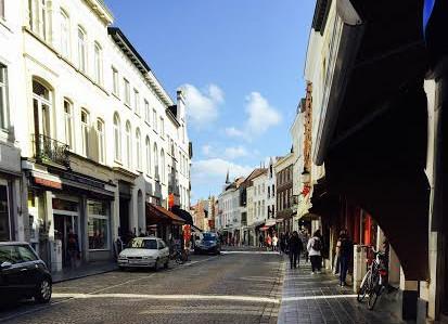 Romantisnya Brugge, Kota Tua-nya Belgia