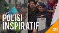Salut! 2 Polisi di Jatim Ini Berjiwa Sosial Tinggi