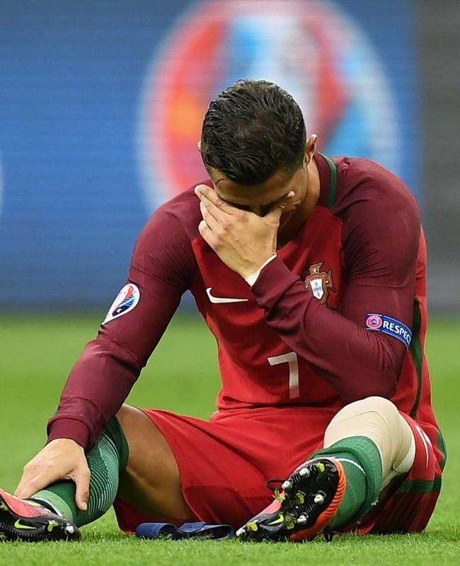 Cedera dan Air Mata Ronaldo