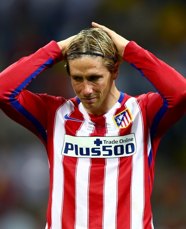 Tangisan Fernando Torres