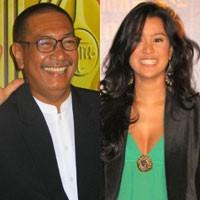 Antara Deddy Mizwar & Marcella Zalianty