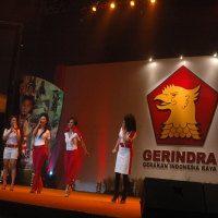 Rapimnas Gerindra Ditutup, Peserta Larut Dalam Goyangan