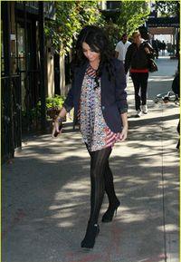 Vanessa hudgens in pantyhose for the