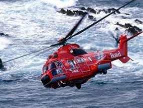 Helikopter Tercebur ke Laut, Seluruh Penumpang Selamat