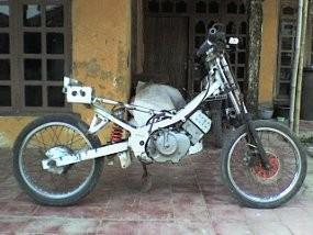 Ubah Satria 120 R Jadi Trail