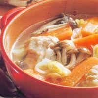 Resep Sup: Sup Ayam Jamur Shimeji