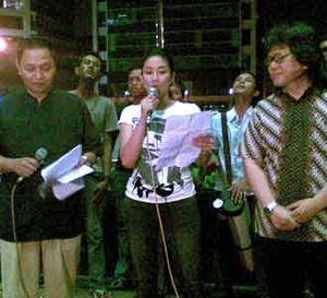 Malam Seni Anti Korupsi di KPK