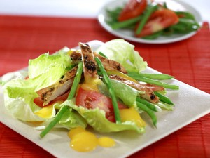 Resep Ayam: Salad Ayam Saus Mangga