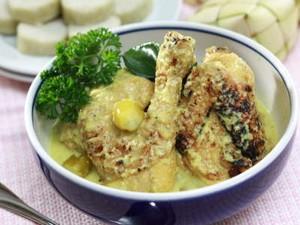 Resep Ayam: Opor Ayam Bakar