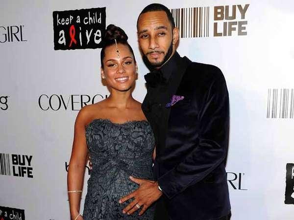 Alicia Keys Hamil Besar