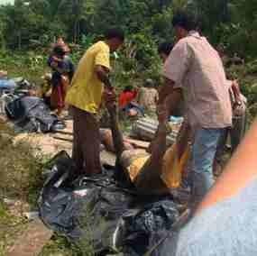 Korban Tsunami Mentawai Capai 394 Jiwa, 312 Hilang