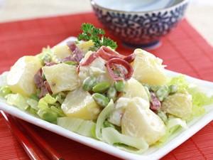 Resep Salad: Edamame Potato Salad