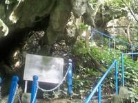 tangga menuju Gua latea