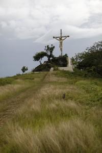 Patung Yesus di Saumlaki