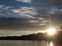 Sun Set pantai Weluan