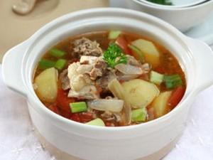 Resep Sup: Sup Kentang Iga