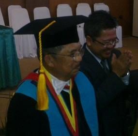 JK Terima Gelar Doktor Honoris Causa dari UPI Bandung