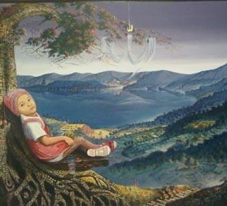 Memandang Alam sebagai Ayat Tuhan di Lukisan Hendra Buana