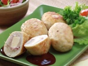 Resep Ayam: Burger Ayam Keju