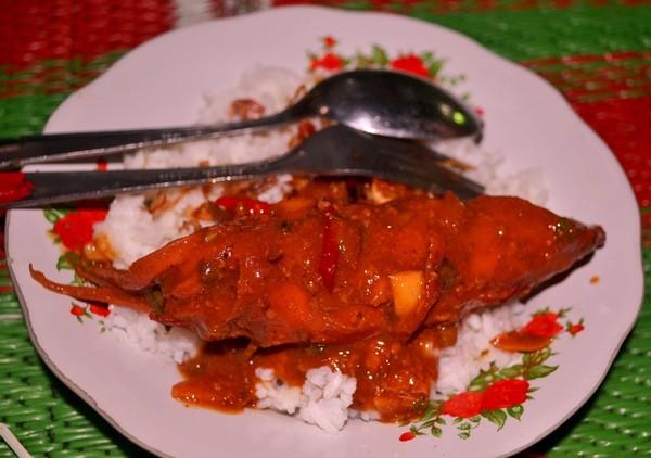 Cumi ter-ajiiiiiibbbb : Night Culinary, Alun2 Karimunjawa