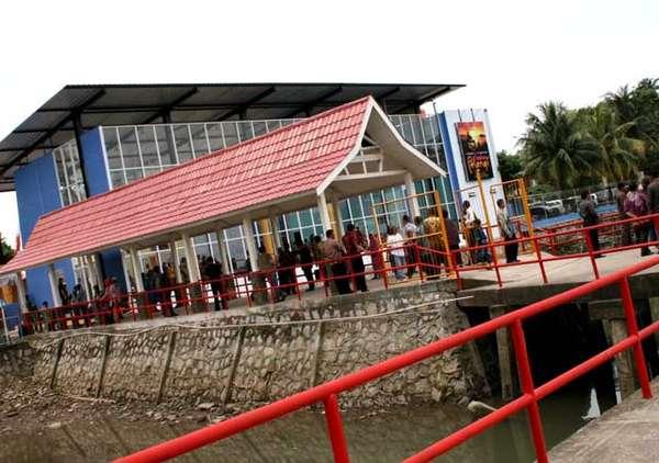 Ini Dia Terminal Penumpang Laskar Pelangi