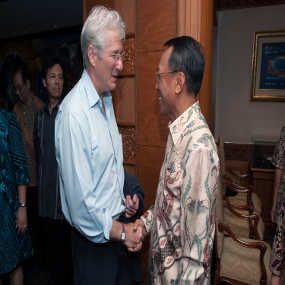 Jero Wacik: Richard Gere Jadi Duta Pariwisata Informal untuk Indonesia
