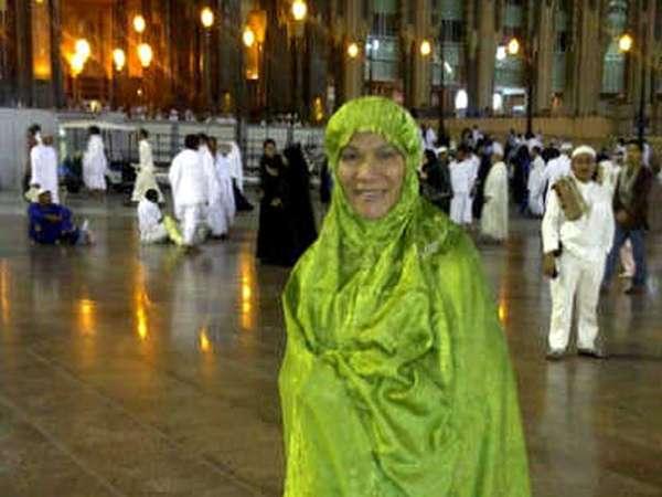 Dorce Rayakan Ultah di Mekkah