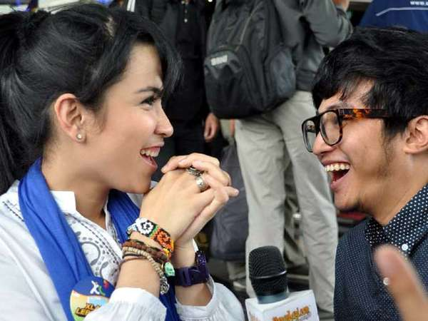 Dinda Kanya Dewi & Pacar Baru
