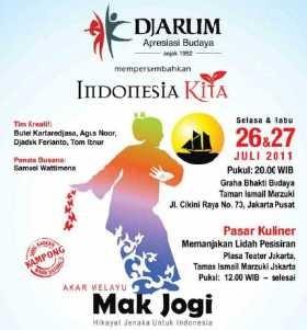 \Mak Jogi\: Melacak Akar Budaya yang Mempersatukan Indonesia