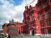 Museum Sejarah di dekat Lapangan Merah