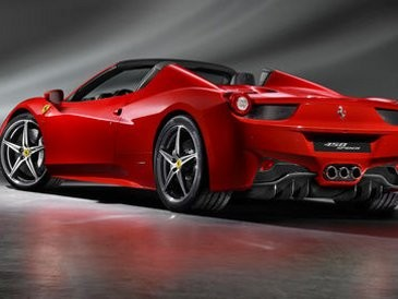 Ferrari 458 Spyder >> Ini Dia Tampang Asli Ferrari 458 Spider