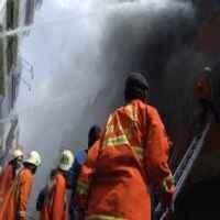 Kebakaran di Pasar Rumput, 16 Mobil Damkar Dikerahkan