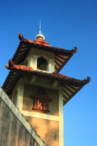 salah satu menara musholla di dekat komplek pemakaman milik IKS (Ikatan Keluarga Soemodilogo)