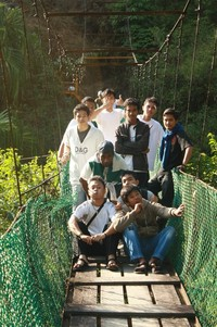 Asahan-Fliying bridge